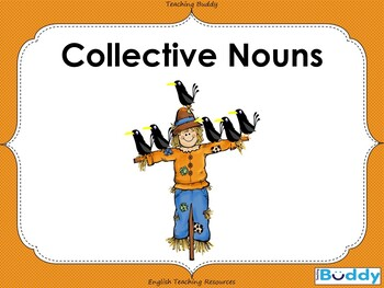 Collective Nouns - PowerPoint and worksheet