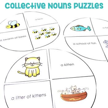 Collective Nouns Puzzles