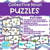 Collective Nouns Puzzles, Collective Nouns Activity, Collective Nouns Poster