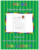 Collective Nouns Quiz
