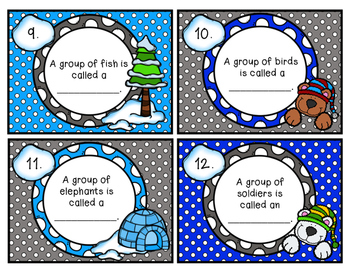 Collective Nouns Scoot Winter
