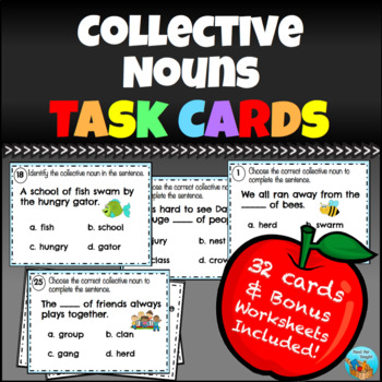 Collective Nouns Task Cards
