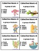 Collective Nouns 24 Task Cards, Scoot Game, and Quick Assessment