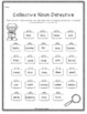 Collective Nouns Task Cards and Activities