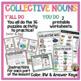 Collective Nouns Pack: anchor chart, activity center, worksheet