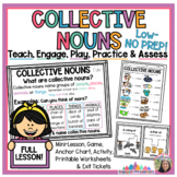 Collective Nouns Pack: anchor chart poster, activity cente