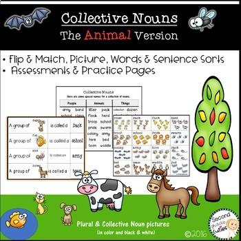Collective Nouns   The Animal Version