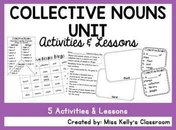 Collective Nouns Unit (Common Core Aligned)
