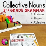 Collective Nouns Unit with Video: Collective, Common, & Pr