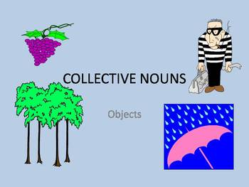 Collective Nouns - objects