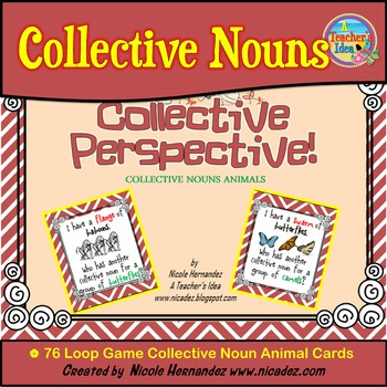 Loop Game - Collective Nouns Animals