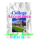 College Acceptance Student Success  Pack