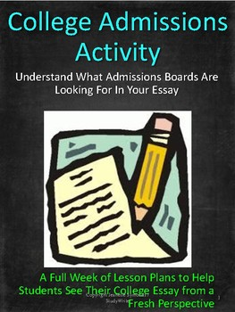 College Admissions Activity