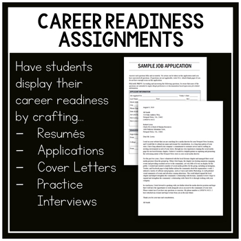 College Admissions and Career Readiness Unit Bundle