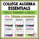 College Algebra Essentials and Assessments