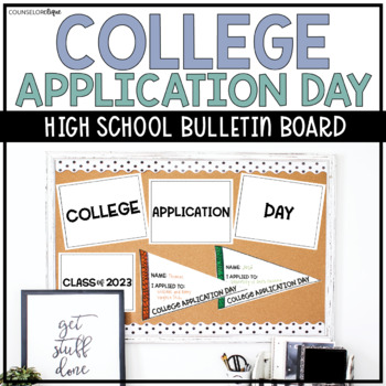 College Application Day Pennant