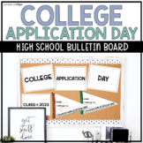 College Application Day Pennant Bulletin Board for High School