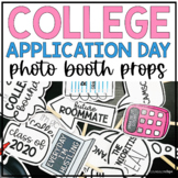 College Application Day Photobooth Props
