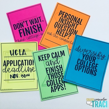 College Application Posters
