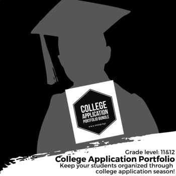 College Application Portfolio Bundle