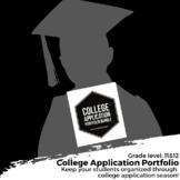 College Application Portfolio Bundle