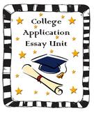 College Application Essay Unit