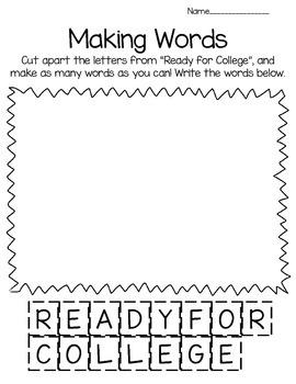 College Awareness Activities