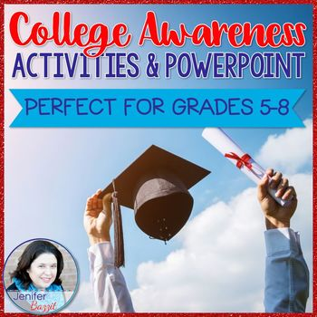 College Awareness Activities and PowerPoint for Grades 5-8
