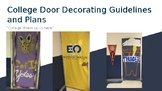 College Awareness Door Decrorating Guidelines