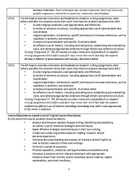 College-Board Approved AP English Language & Composition Syllabus