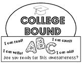 College Bound Graduation Celebration Hat