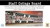 College Bulletin Board Template