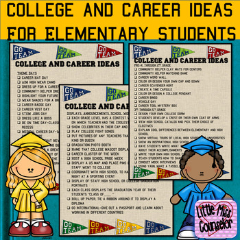 College & Career Ideas for Elementary Students