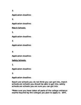 College/Career Plan
