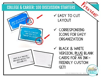 College & Career Readiness: 100 Icebreaker Questions