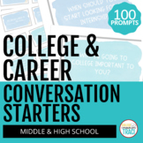 College and Career Readiness Activities: 100 Conversation Starters