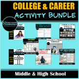 College & Career Readiness Bundle- includes digital worksh