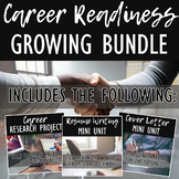 College & Career Readiness Bundle: Career Research, Resumes, & Cover Letters