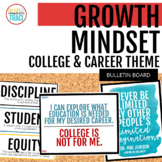Growth Mindset Posters College and Career Readiness