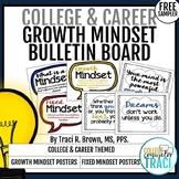 College & Career Readiness Mindsets Bulletin Board Freebie Sample