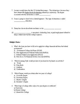 College & Career Readiness Study Guide
