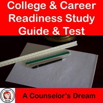 College & Career Readiness Study Guide & Test Bundle