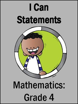 College & Career Ready I Can Statements (4th Grade Mathematics)