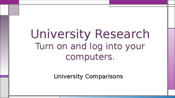 College & Career - University Research
