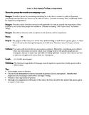 College Composition: Descriptive Essay