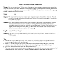 College Composition: Personal Essay