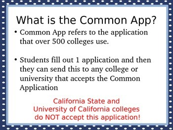 College Counseling: All About College- A PowerPoint Presentation for Parents