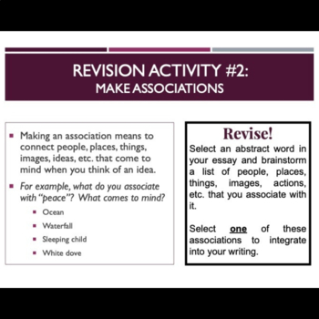 Argumentative essay lesson