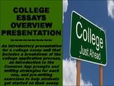 College Essay Unit Overview