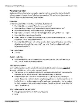 College Essay Writing Part 2 - Brainstorming Ideas
